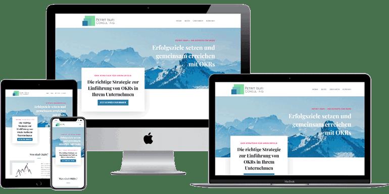 Webseite-isufi